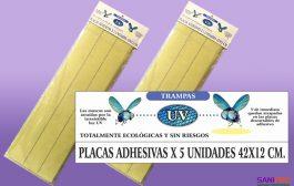 Placas Adhesivas para equipos Vector atrapa insectos 42x12
