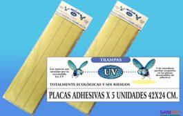 Placas Adhesivas para equipos Vector atrapa insectos 42x24