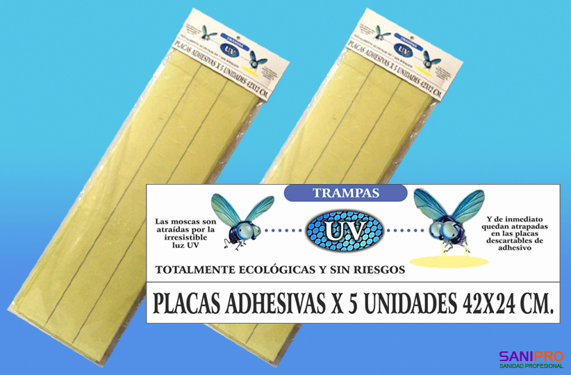 Placas-adhesivas-para-equipos-Vector-atrapa-insectos-42x24