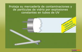 Tubos UV Antiestallidos para equipos Vector atrapa insectos